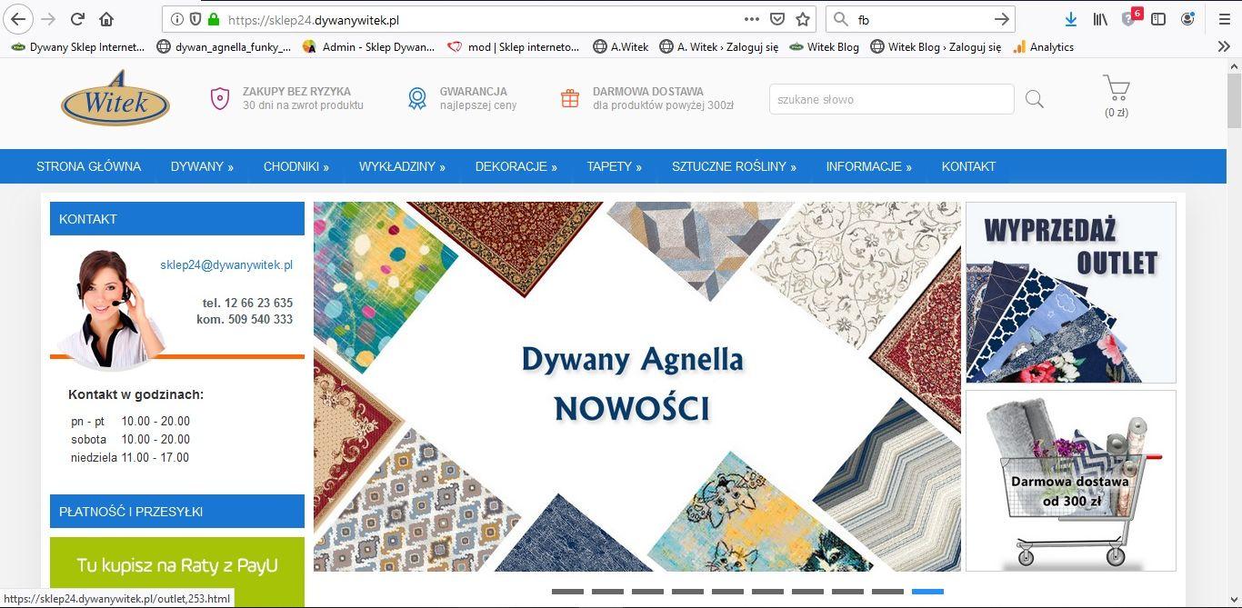 Korzyści z zakupu dywanu przez Internet
