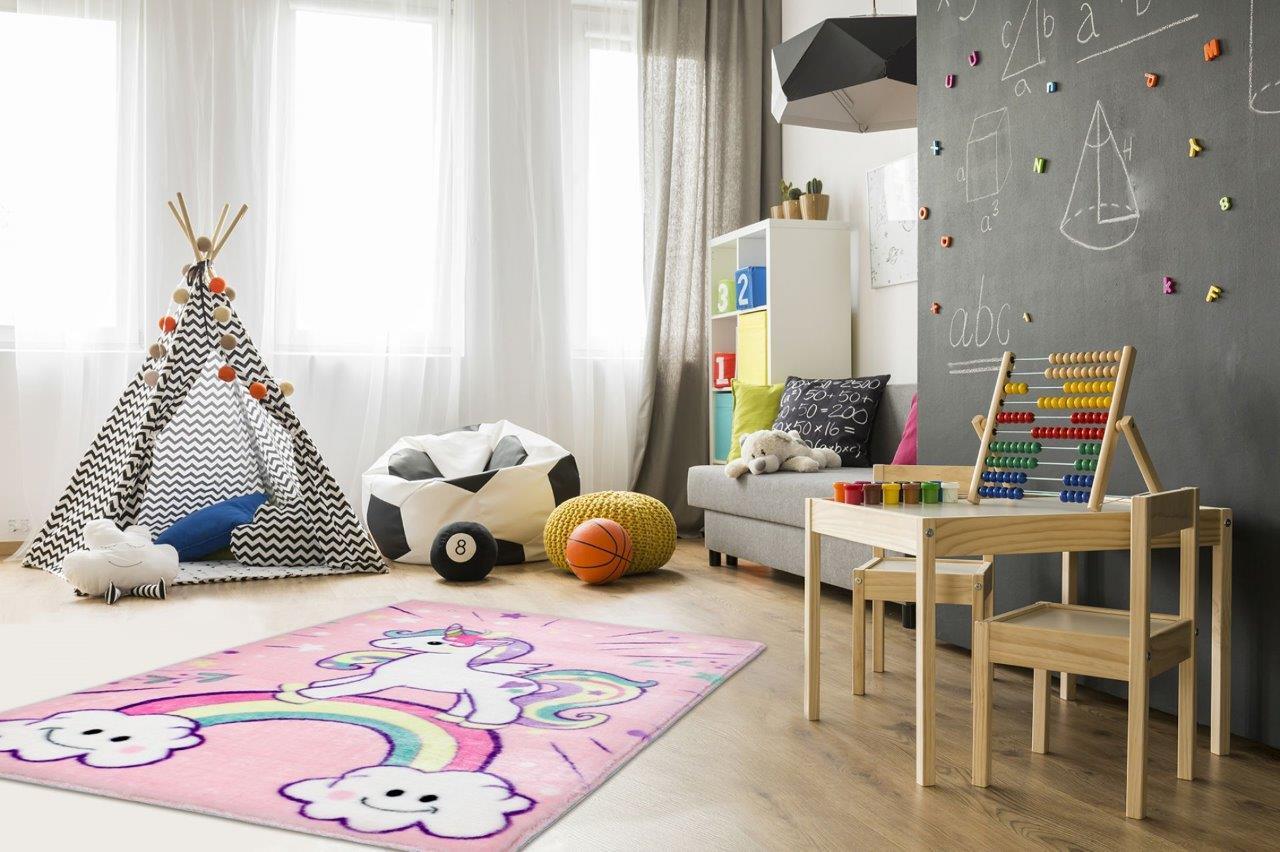Dywanowe propozycje do pokoju dziewczynki